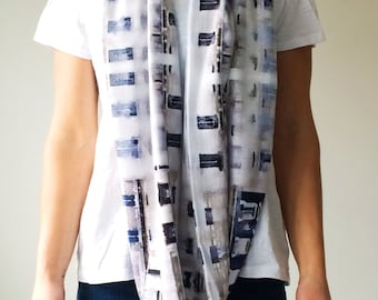 Paris - Art scarf