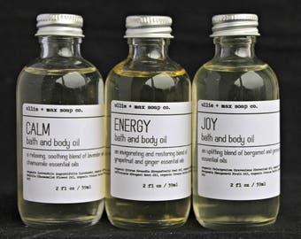 Aromatherapy Bath Oil, Body Oil, Vegan Bath Oil, Organic Bath oil