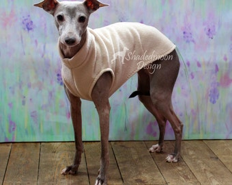 Italian Greyhound Simple Sleeveless Sweater - Various Colours (measurements essential)   -  IMPORTANT - see item details