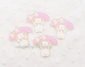 1pc - Kawaii Oopsies My Melody Cute Mix Decoden Cabochon (40mm) MYM010