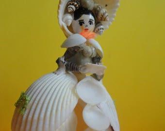 Sea Shell Doll Figurine