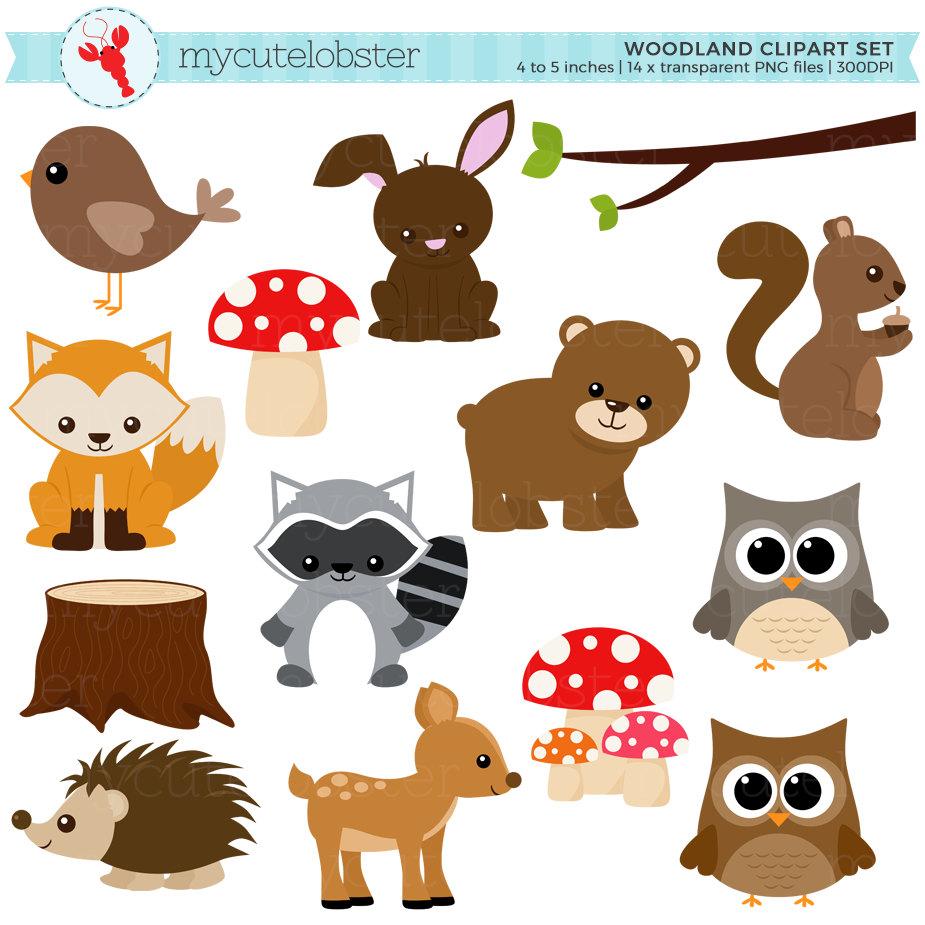 Irresistible image inside printable woodland animals