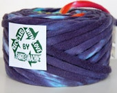 RESERVED Recycled T Shirt Yarn, Tie Dye 33 Yrds, T- Shirt Yarn, Tarn