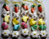Easter Sugar Cookie Gift / Kids Easter / Easter Party Favors / Easter / mini cookies / Easter gift / Easter cookie/ Easter basket gift