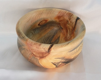 Wooden bowl, hand turned bowl, home decor, couples gift