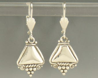 ER564- Sterling Silver One of a Kind Earrings