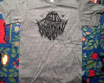 ANGELO BADALAMENTI black metal black lodge twin peaks SHIRT on grey or on black whooooaaaaaa
