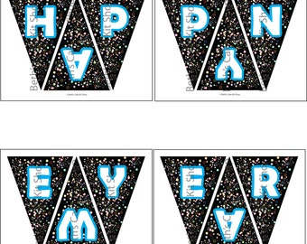 Happy New Year Banner Download