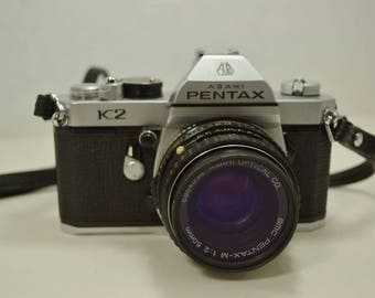 Vintage  Asahi Pentax K2  35MM Camera - We have a great selection of Vintage Cameras