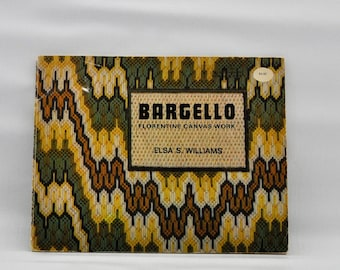 Bargello - Florentine Canvas Work - Pattern and Instruction Book