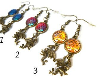 Dragons earrings