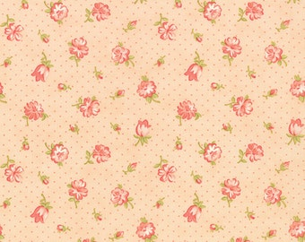 Strawberry Fields Revisited pink flower bud 20261-16 by Fig Tree Quilts for moda fabrics