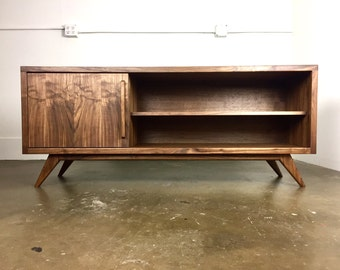 "The ""Keller"" a mid century modern credenza, TV console, TV stand,"