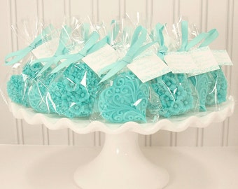 10 Heart Soap Favors - Choose Color - Soap Favors - Decorative Hearts