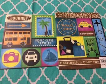 Travel Paper Studio Scrapbooking Embellishment Sticker sheet/ NEW/ Great for card making, journal, scrapbooking, planners