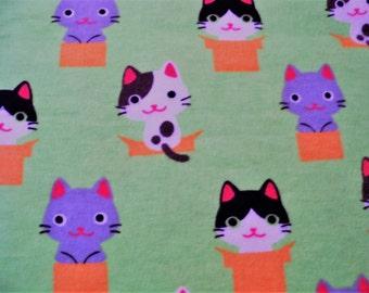 Flower Pot Cats! Refillable Catnip Mat