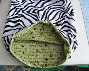 Cat Breeds Zebra! Snuggle Sack