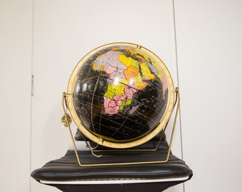 Mid Century Cram's Black Globe