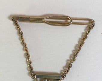 Vintage Swank Tie Bar With Initisls JP