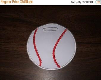 ON SALE Baseball Bag Tag