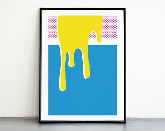 NEW! Pop #2, Art Print in Different Sizes