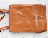 Writers Bag  Leather Satchel  Old School cross Body Messenger Bag