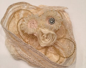Vintage Lace and Flower Collection, Embellishments, Shabby Chic, Victorian, DIY