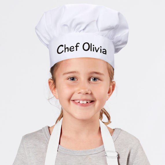 Personalized Chefs Hats For Kids