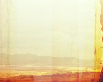 Large Abstract New Mexico Landscape Desert Wall Art, Modern Southwest, Santa Fe Modern, Minimalist Landscape, Abstract Modern, Minimal Style