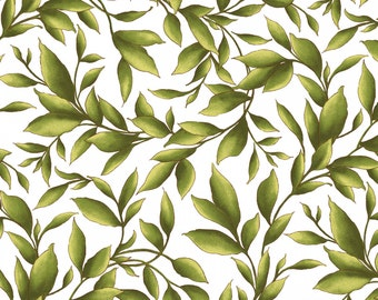Catalina - White Leaves from Maywood Studio