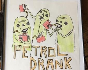 Petrol (original drawing)