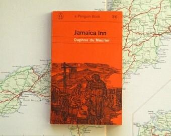 Daphne du Maurier Jamaica Inn vintage book, 1960s paperback