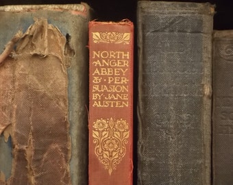 FLAPPING Vintage Northanger Abbey and Persuasion by Jane Austen
