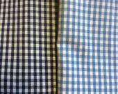 Custom-order for three bolsters 2 light blue  1 red Check lumbar accent throw lumbar bolster pillow