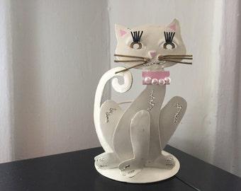 Kitchy Cat Candleholder