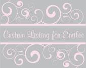Custom Listing For Emilee