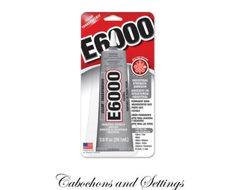Made in USA E6000 Craft Glue Resins Metals Crystals Dolls Bails Clasp Ends &  More 2 oz / 59.1ml - AUSTRALIA