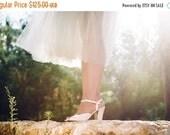 Christmas Sale Vegan wedding shoes / vegan wedding day shoe / cream color bridal shoe / shoes for special day / high heel design / unique an