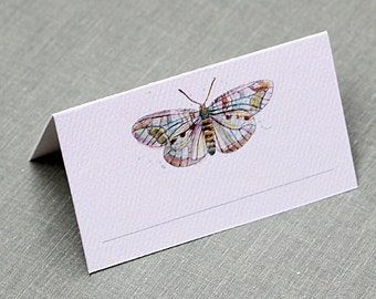 Butterfly Place Card Boho Design, set of 12