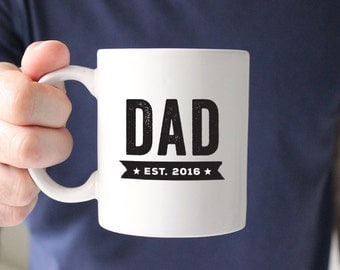 Gift for Dad Mug New Dad Gift Dad Established New Dad Mug Dad Coffee Mug Fathers Day Gift
