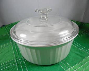 Vintage Corningware French 1.6 L Casserole Dish with Lid