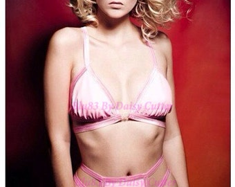 Soft cup lingerie bra can be made opaque or see-thru