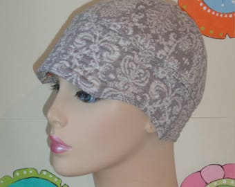 Womens Chemo Hat Cancer Hat Hair Loss Cap Reversible( For Size Guide, see 'Item Details' below photos)  SMALL/MEDIUM