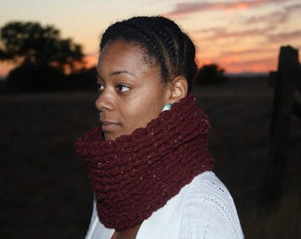 Burgundy Neck Warmer