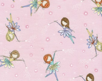Tossed Fairies From Timeless Treasure's Starry Night Collection