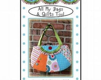 ON SALE Sassy but Classy bag Pattern, FREE Shipping with another item