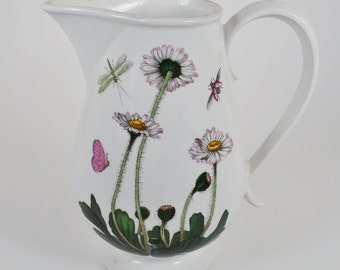 Portmeirion Botanic Garden Daisy Dragonfly 14 Oz Romantic Pitcher Creamer