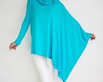 Loose sweatshirt/ Loose sweater/ Oversize sweater/ Maternity sweater/ 5xl sweater/ 3xl sweater/ Gift for woman/ Extravagant sweatshirt OLENA