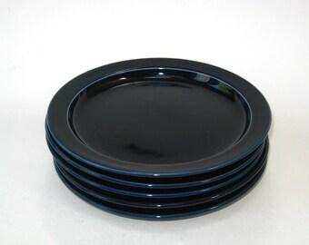 Dansk Bistro BISSERUP BLUE Set of 5 Bread / Dessert / Side Plates Niels Refsgaard Japan