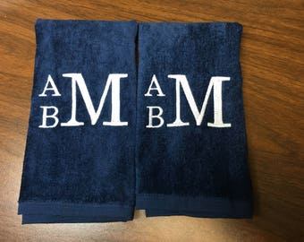 Golf towel, Personalized workout towel, sweat towel, exercise towel, sport towel, exercise gift, gym towel, one name or monogram per towel